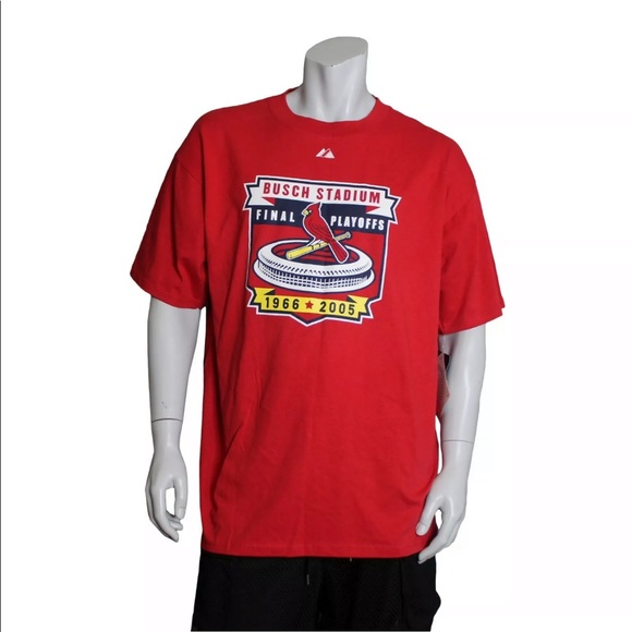 d853bb7e MLB ST. LOUIS CARDINALS FINAL PLAYOFFS T SHIRT NWT
